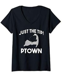 womens-ptown-just-the-tip-funny-ptown-cape-cod-massachusetts-v-neck-t-shirt.jpg